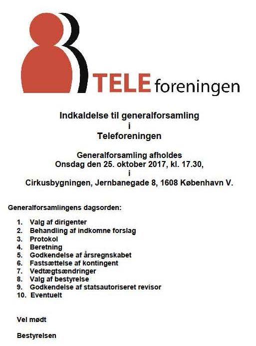 Dansk Metal Tele Øst: generalforsamling_2017